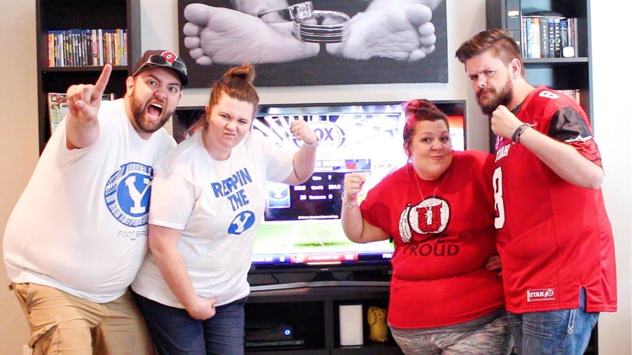 BYU vs Utah Rivalry Game - YouTube