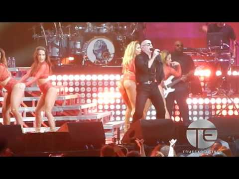 Pitbull Brings Miami to Newark, NJ [The Bad Man Tour]