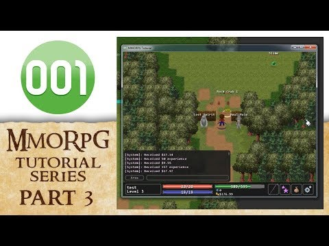 001 Game Creator Tutorial | MMORPG - Quests And Monsters (Part 3/4)