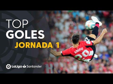 Todos Los Goles De La Jornada 1 De LaLiga Santander 2019/2020