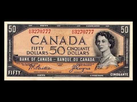 All Canadian Dollar Banknotes - Bank Of Canada - 1954 To 1987 Issues