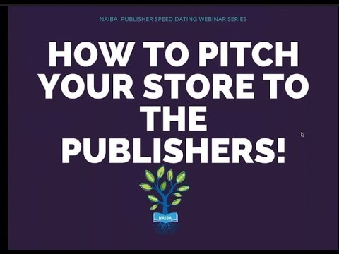 2018 NAIBA Webinar How to Pitch Your Store to the Publisher
