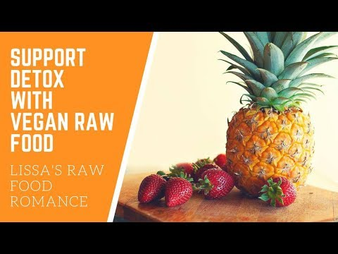 SUPPORT DETOX TALK WITH RAW FOOD VEGAN DIET || TIPS HOW TO HELP