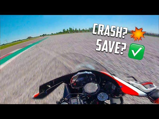 Come NON provare la moto di NASKA! 😖YAMAHA R1 TEST RIDE 2020 *finito male*