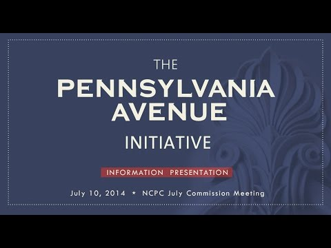 Pennsylvania Avenue Information Presentation