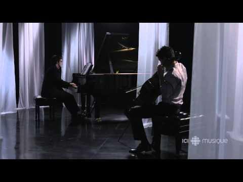 Stéphane Tétreault et Charles Richard-Hamelin jouent Arvo Pärt
