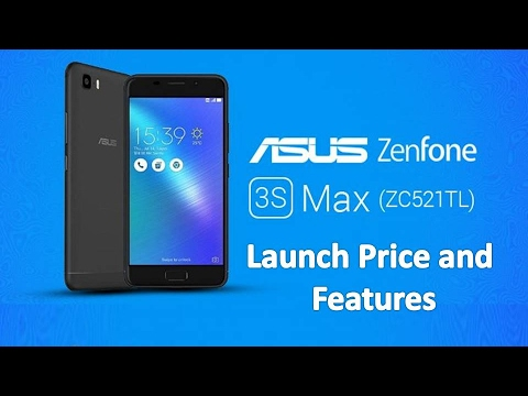 Asus Zenfone 3S Max ZC521TL: Launch Price, Specifications And Features In Dubai, UAE