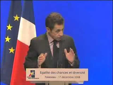 """Quand Sarkozy, le soi disant """"Gaulliste"""", voulait imposer le metissage aux français..."""