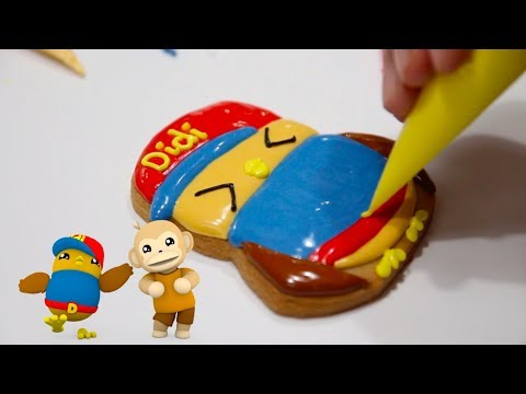 Didi & Friends x MyKekiss | Segmen Kreatif | Jom Buat Sugar Cookies Didi & Friends