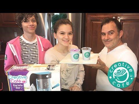 Barista Bar Challenge! Latte Art Challenge