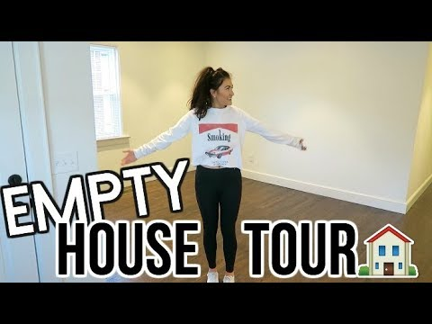 EMPTY NASHVILLE HOUSE TOUR || Sarah Belle