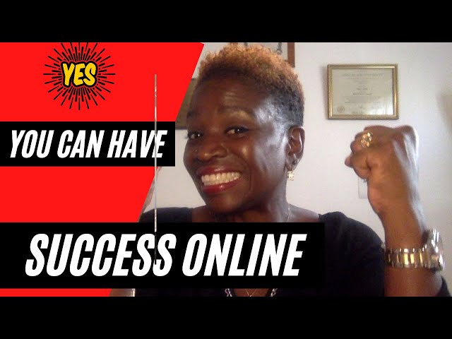 You Can Have Success Online. Check us out!