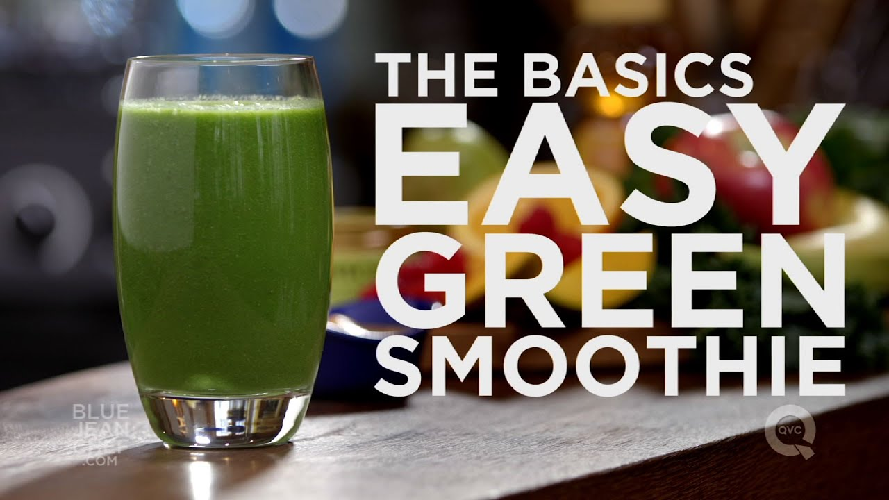 how to make easy green smoothies