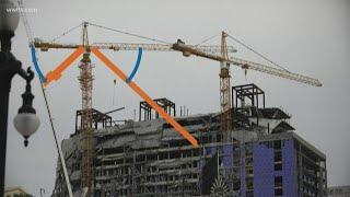 Deadline missed to pay for crane demolition at Hard Rock