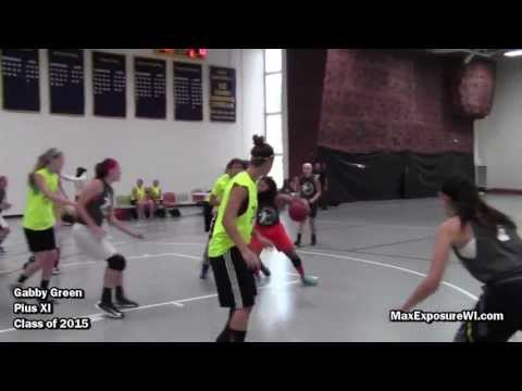 Gabby Green Fall League Highlights | VOLUME 1 | Pius XI High School Class of 2015 Point Guard