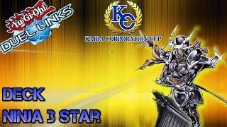 DECK NINJA 3 STARS (F2P) - KC Cup D12/D18 - Duel Links [ITA]
