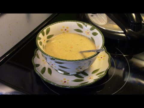 Pressure Cooker Curried Chicken Rice Soup
