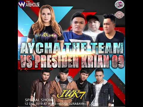 DJ AYCHA TERBARU - VERSI ILIR 7 HAPPY PARTY AYCHA THE TEAM AND H.WAKIL PRESIDEN KRIAN