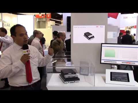 Infineon explains their latest Intelligent Power Module at PCIM 2015