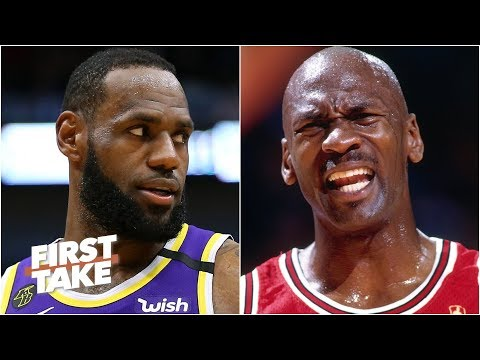 How big of a threat does LeBron pose to MJ's GOAT status? | First Take