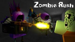 Playing zombie rush(level210) | ROBLOX