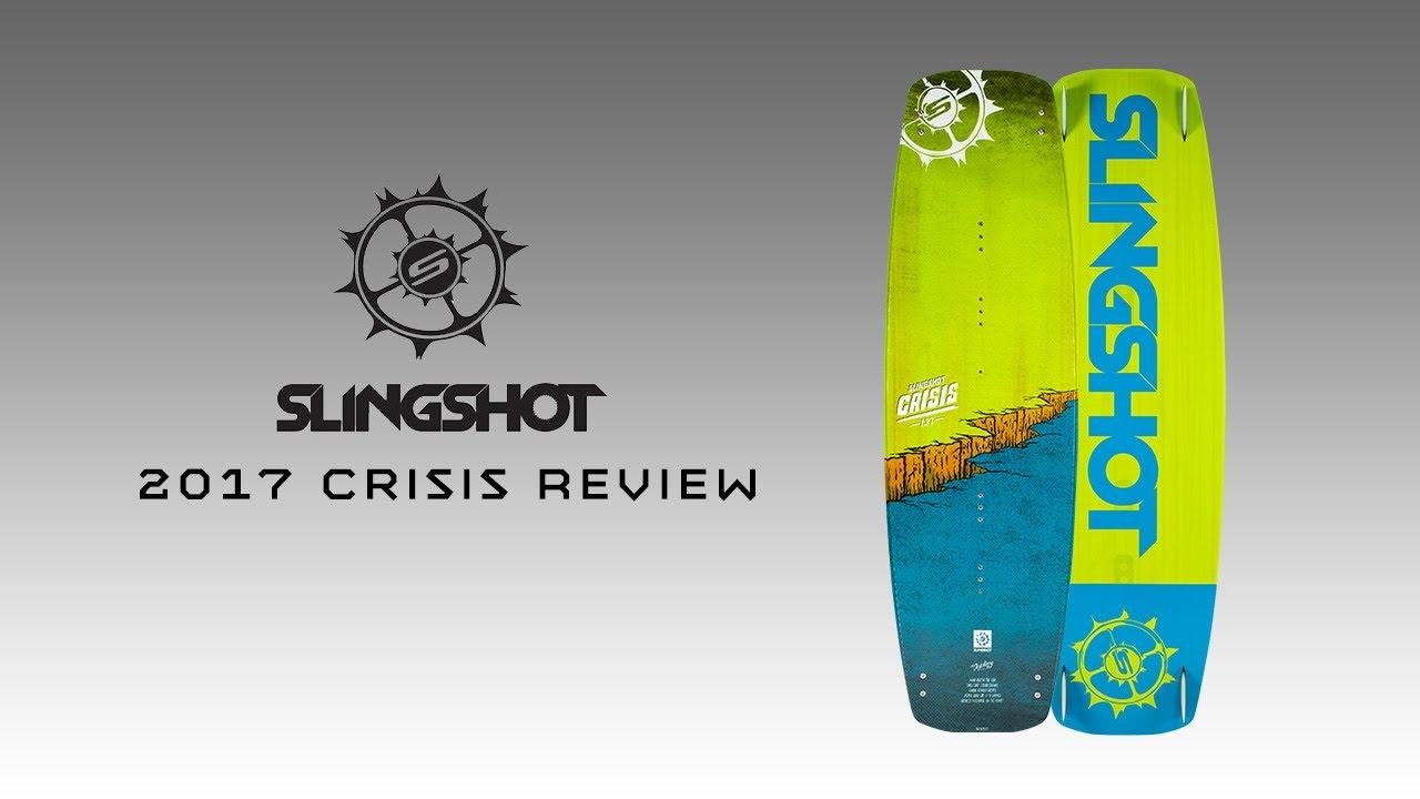 2018 Slingshot Crisis Kiteboard Review