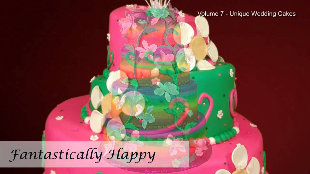 Unique wedding cakes wedding cakes pictures wedding cake unique wedding cakes wedding cakes pictures wedding cake decorations volume 7 youtube junglespirit Image collections