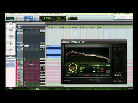 Eq matching a mix using reference tracks