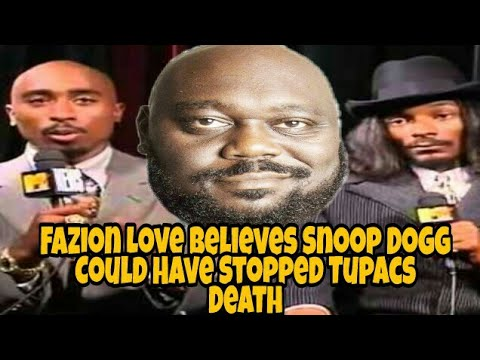 Faizon Love Says Tupac Died Because Of Snoop Dogg Could Have Stopped It | DocHicksTv