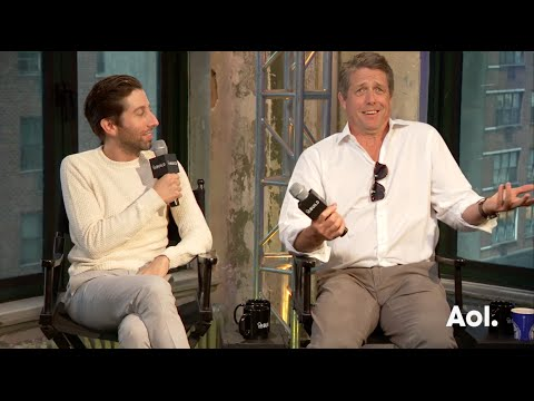 Hugh Grant and Simon Helberg On