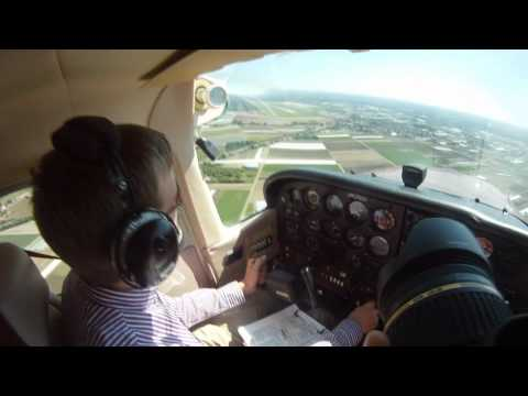 VFR flight LKLT to EDDN and back