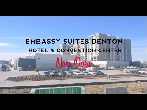 Embassy Suites Hotel & Convention Center in Denton, TX Time-Lapse