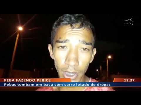 DFA - Pebas tombam em bacu com carro lotado de drogas