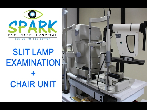 Slit Lamp Examination + Chair Unit | Spark Eye Care