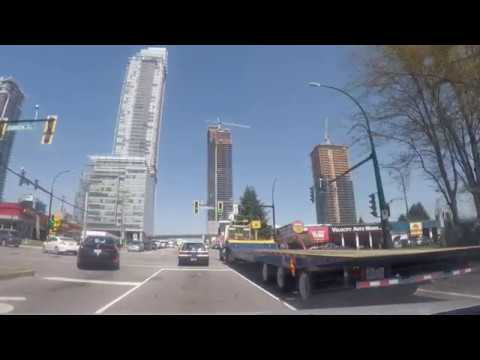All over VANCOUVER: Driving in Burnaby, BC, Canada