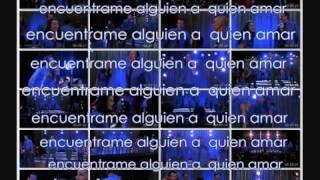 Glee - somebody to love (letra en español)