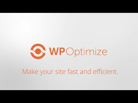 WP Optimize Introduction