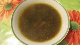 Суп из сушеных грибов. Незабываемый вкус!