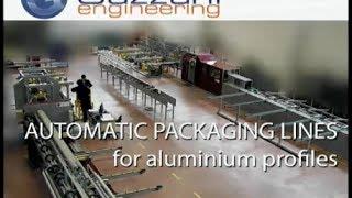 Aluminum profiles packaging machines