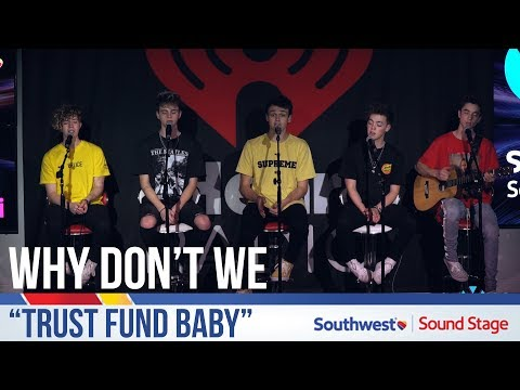 "Why Don't We Performs ""Trust Fund Baby"" Live at Y100!"