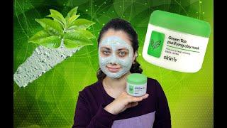 Маска для лица с глиной и зеленым чаем Skin79 Green Tea Purifying Clay Mask