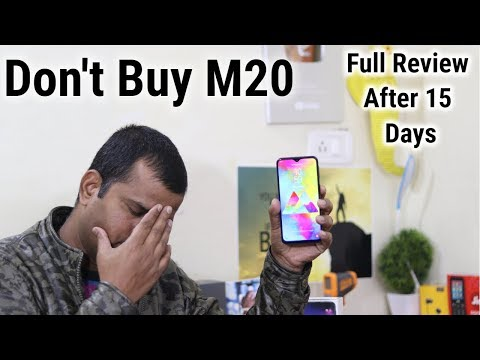 Samsung Galaxy M20 Full Review   After 15 Day's हिंदी   Should You Buy ?