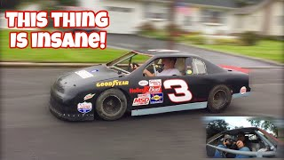 FIRST DRIVE in the Half Scale NASCAR on the STREET!