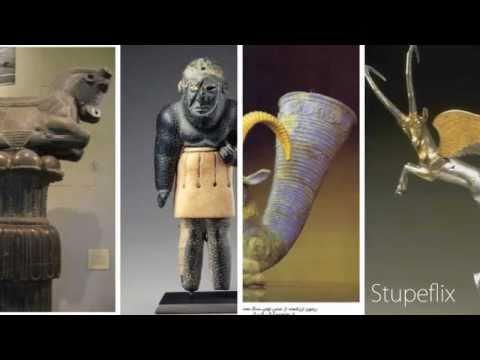 Ancient Persian Art Crafts_ هنر صنایع دستی در ایران باستان