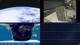 Passing By Asian Coastlines - NASA/ESA ISS LIVE Space Station With Map - 212 - 2018-10-16