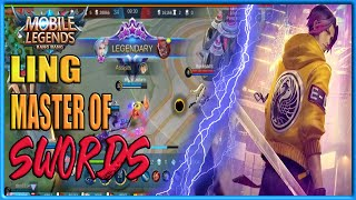Mobile Legends - LING MASTER OF SWIRDS