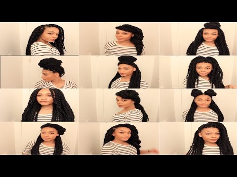 13 Easy Havana/Marley Twists Hairstyles || TheNotoriousKIA
