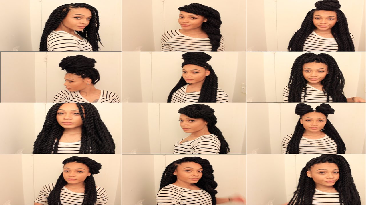 13 Easy Havana Marley Twists Hairstyles TheNotoriousKIA YouTube