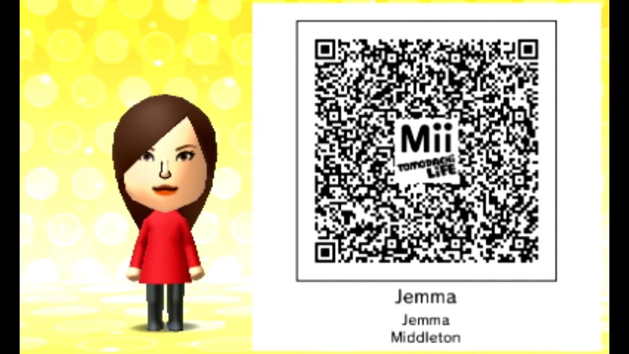 Dantdm's Wife (Jemma)'s READABLE Tomodachi Life QR Code