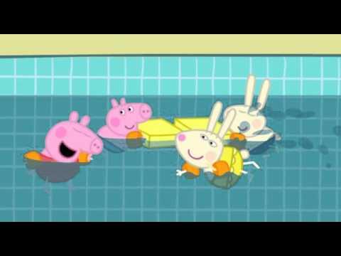 Свинка Пеппа українською сезон 2 серія 28 Плавання
